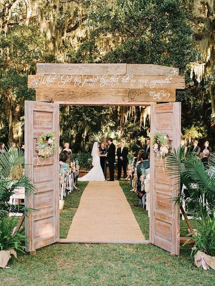 backyard wedding ceremony decoration ideas%0A Outdoor Wedding Ideas that are Easy to Love