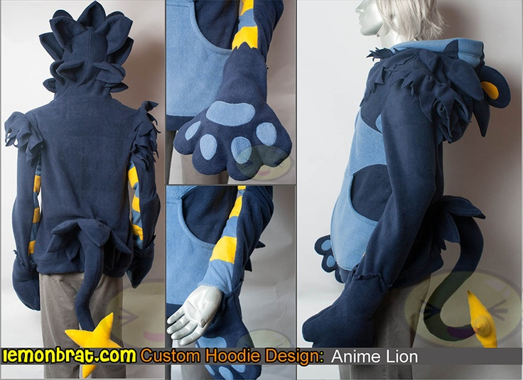 Pokemon Hoodie - custom Here's a link to order a custom hoodie of your own:http://www.lemonbrat.com/customs/