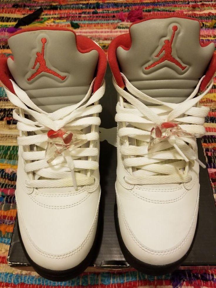 Authentic Nike Air Jordan Retro 5 big kids boys size 7y