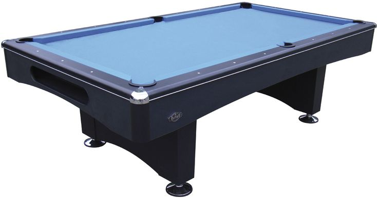 Buffalo Eliminator II Black American Pool Table - 8ft