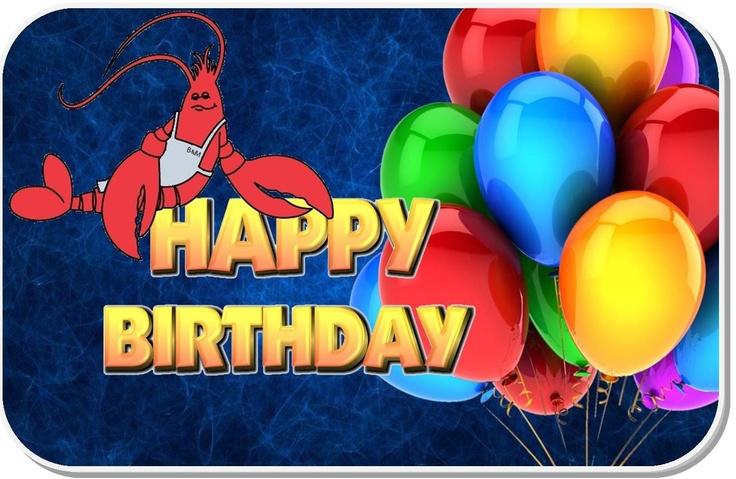 The Fresh Lobster Happy Birthday The Fresh Lobster