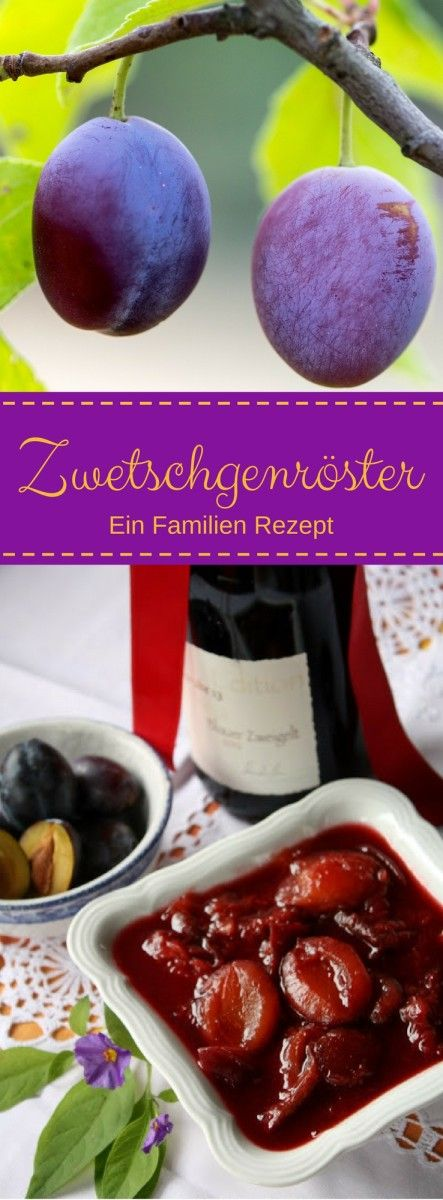 (English) Austrian - Style Mulled Stewed Plums Mein Geheimrezept für den…