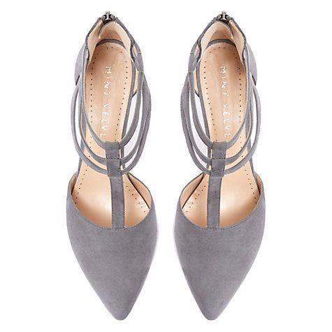 Buy Mint Velvet Elsa T-Bar Court Shoes Online at johnlewis.com