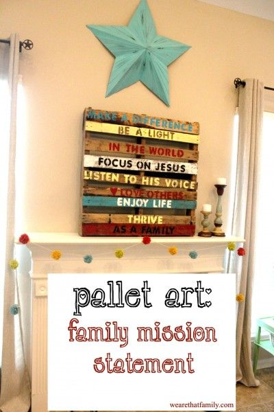We are so going to make one of these! D said he can get some pallets for me so I can try to do some of these DIY crafts and stuff with pallets :)