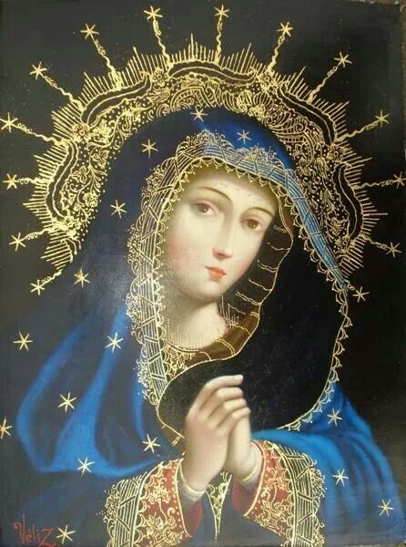 :) mary, dear mother of our Lord