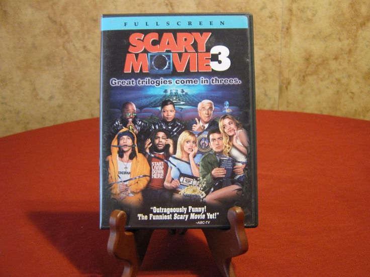 Scary Movie 3 (DVD, 2004, Full Frame Edition)