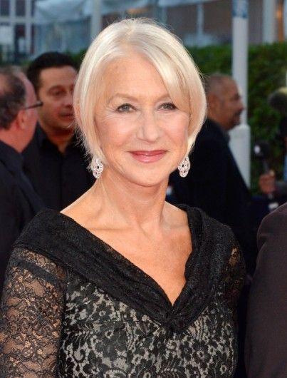 De 69-jarige actrice is het gezicht van een lijn anti-rimpelcrèmes.