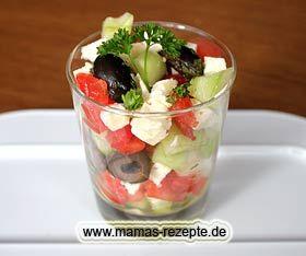 Hirtensalat im Glas