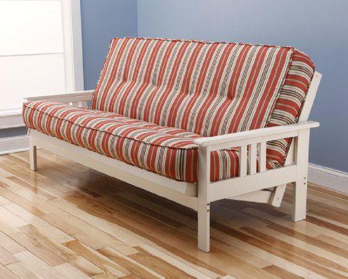 Victoria Futon Sofa Bed White Frame W/garden Premium Mattress (Red Stripe) Kodiak http://www.amazon.com/dp/B00JTIFL44/ref=cm_sw_r_pi_dp_uqrTub0XKZ04G