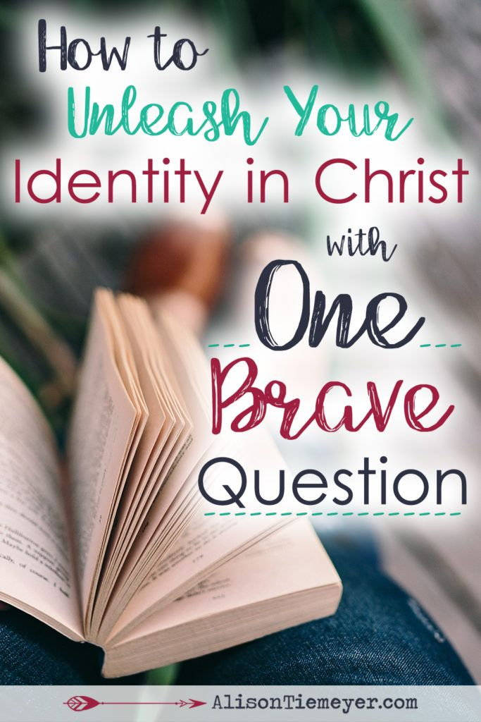 What would happen to your identity in Christ if you were unafraid to ask one, brave question? What God thinks of you is SO powerful & SO beautiful that is causes nothing but drastic change. Ask the question. Dig into the heart work of discovering your identity in Christ. Then, watch as the power of God's opinion transforms your soul.