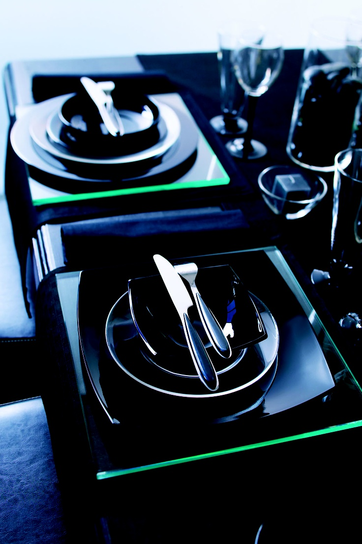 Luminarc Quadrato étkészlet a teritettasztal.com-nál, fehérben, vagy feketében, csak a képzelete szabhat neki határt.