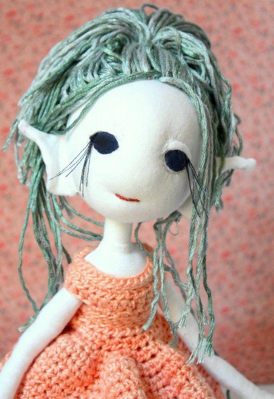 Meadow the Dancing Elf handmade doll
