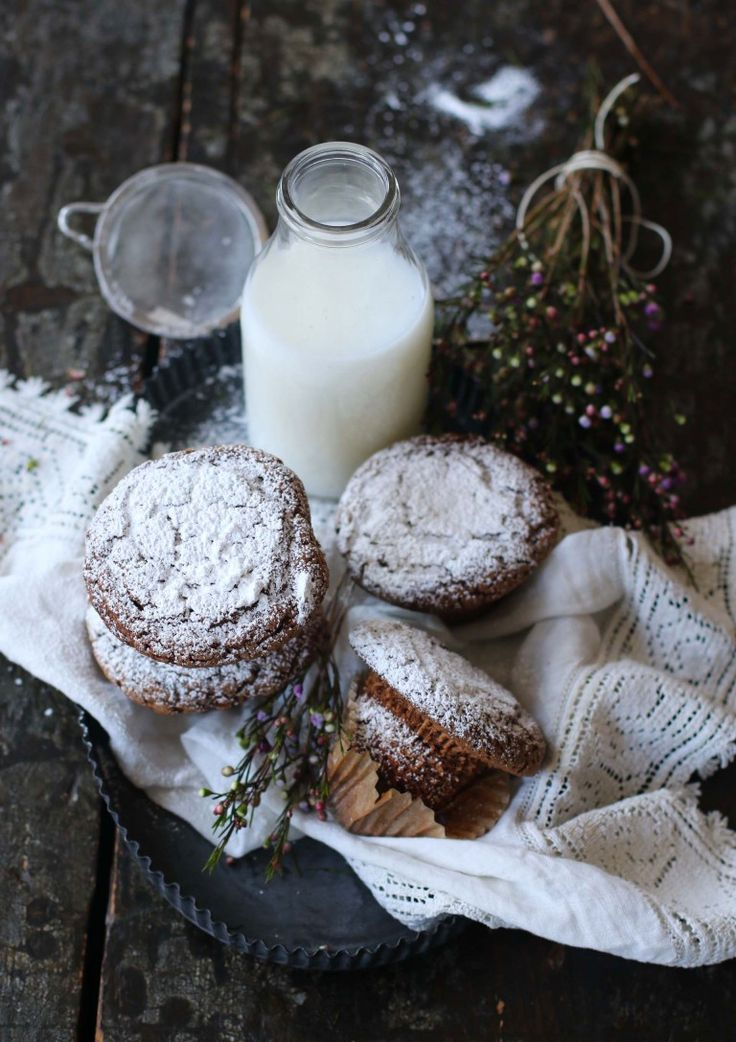 muffins chocolat et café