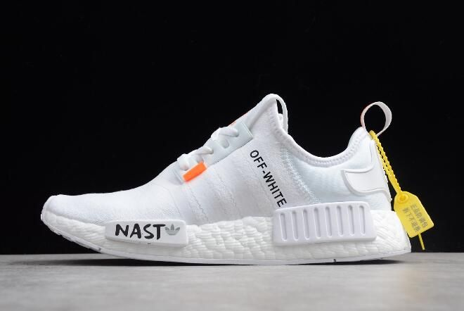 ea01f2ff88673 Off-White x adidas NMD XR1 PK BOOST White Black DA8866 in 2019