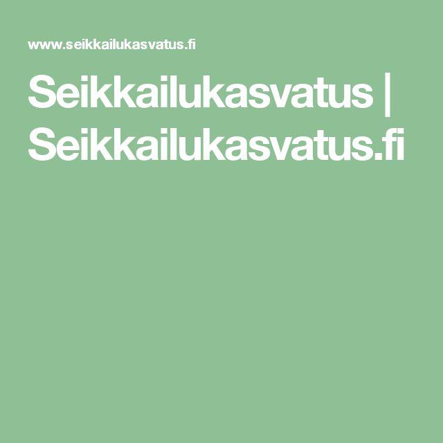 Seikkailukasvatus | Seikkailukasvatus.fi