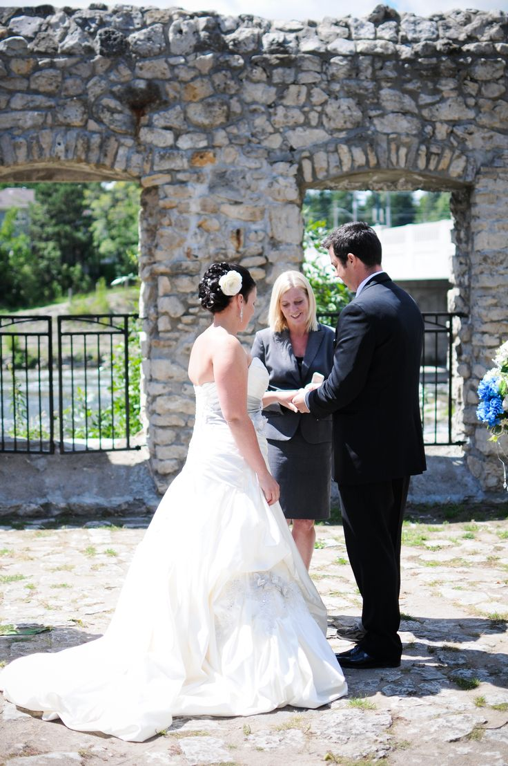 Photo by http://stephaniegascho.com/ Wedding by: http://highglossweddings.com/dylan/ Location: Mill Race Park, Cambridge, Ontario