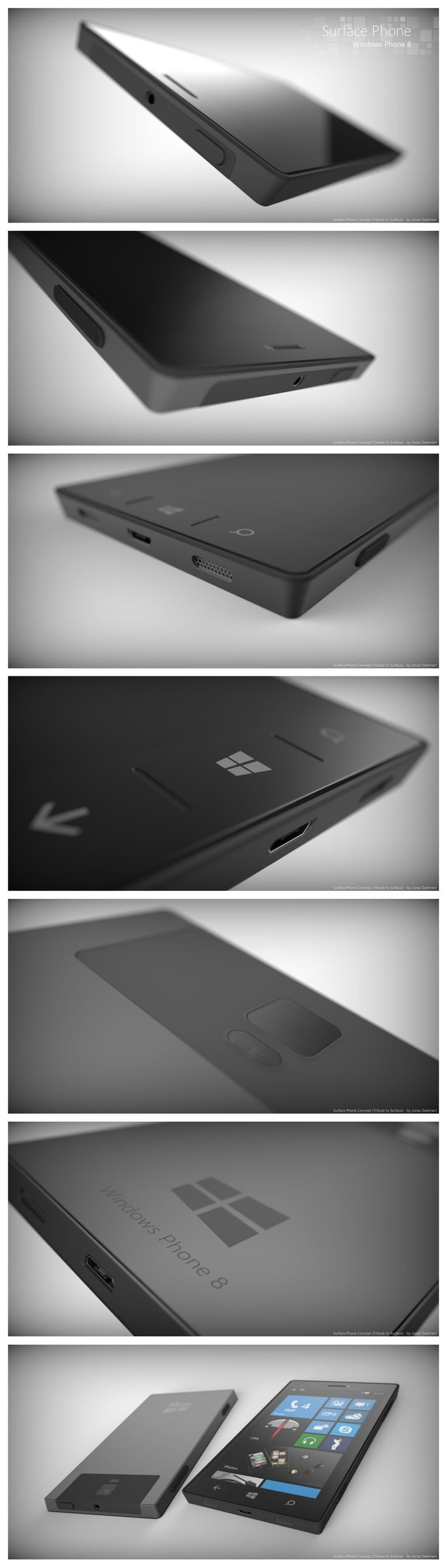 iClarified - Apple News - Windows 8 Surface Phone Concept [Images]
