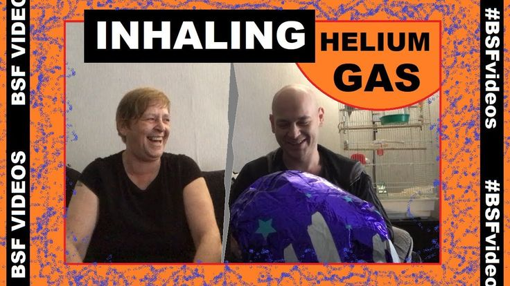 Funny - Inhaling Helium Gas From Balloon (Jingle Bells & Hail Hail)