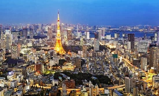 Top 25 destinations in the world: Tokyo, Japan