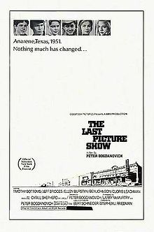 The Last Picture Show (1971). D: Peter Bogdanovich. Selected in 1998.: Movie Posters, Small Town, 100 Movies, Cinema Film Movies, Favorite Movies, Pictures, Friend Duane, Oscar