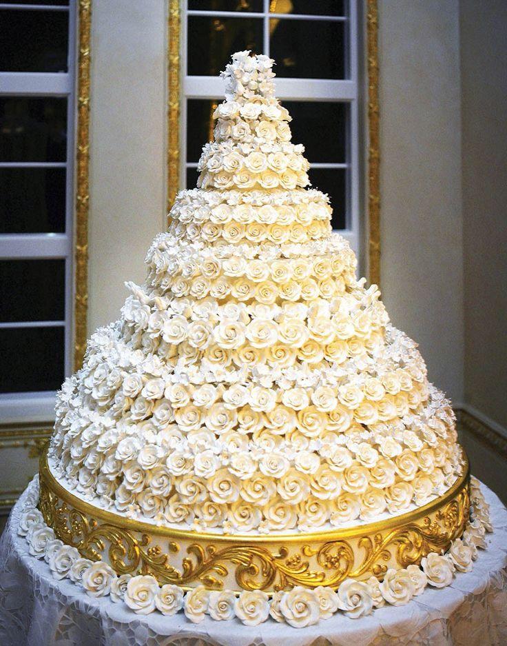 Donald Trump and Melanie wedding cake
