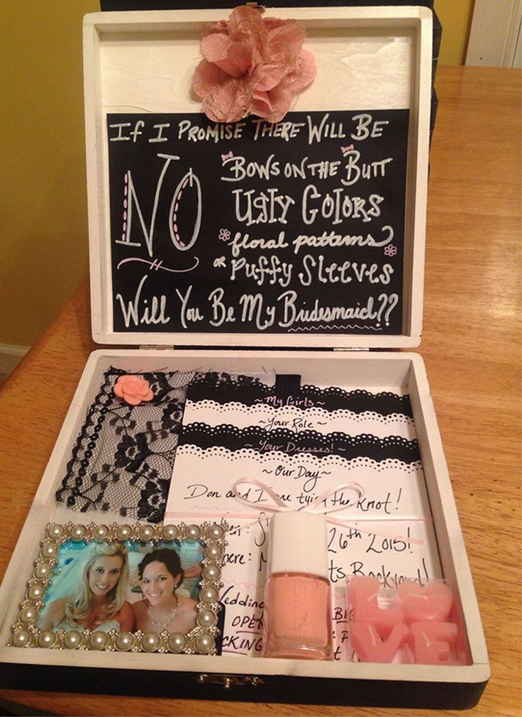 Cool 70 Ideas Will You be My Bridesmaid Box https://weddmagz.com/70-ideas-will-you-be-my-bridesmaid-box/