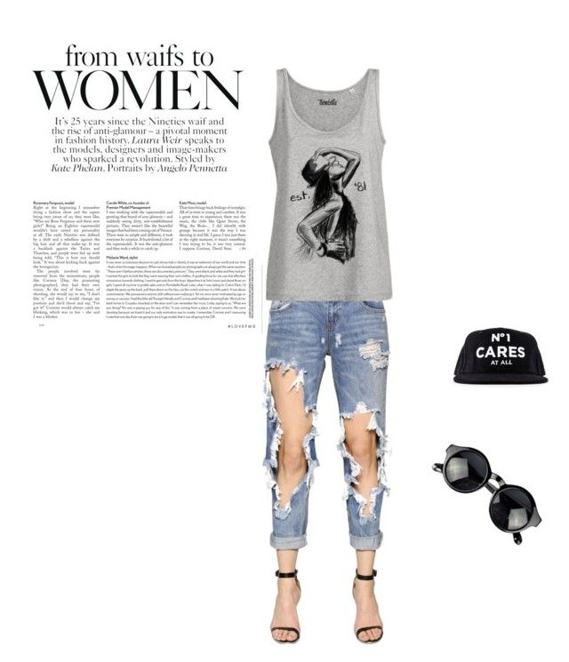 Go graphic with Trendzilla! by trendzilla on Polyvore featuring One Teaspoon