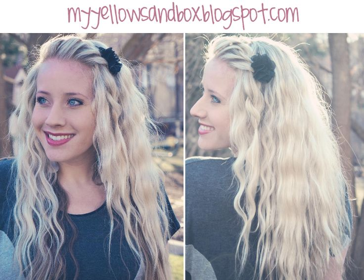 Jumbo Three Barrell.  Great blog with tons of hairstyle how-to's