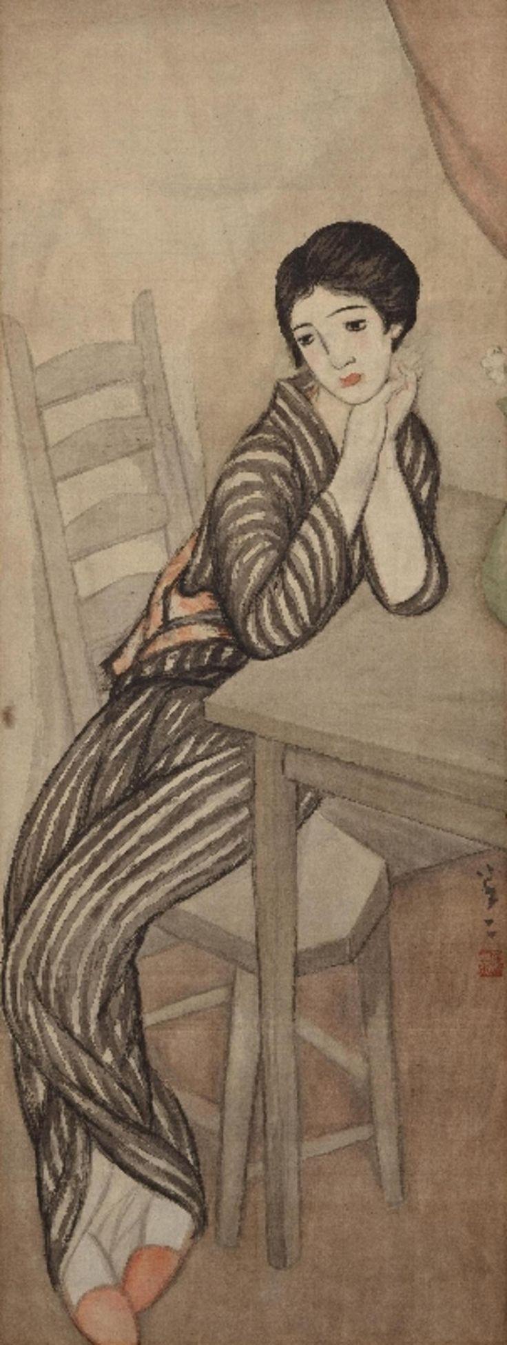 Takehisa Yumeji, 1884-1934 竹久夢二 - Evening Primrose (Yoimachi gusa 宵待草): Images