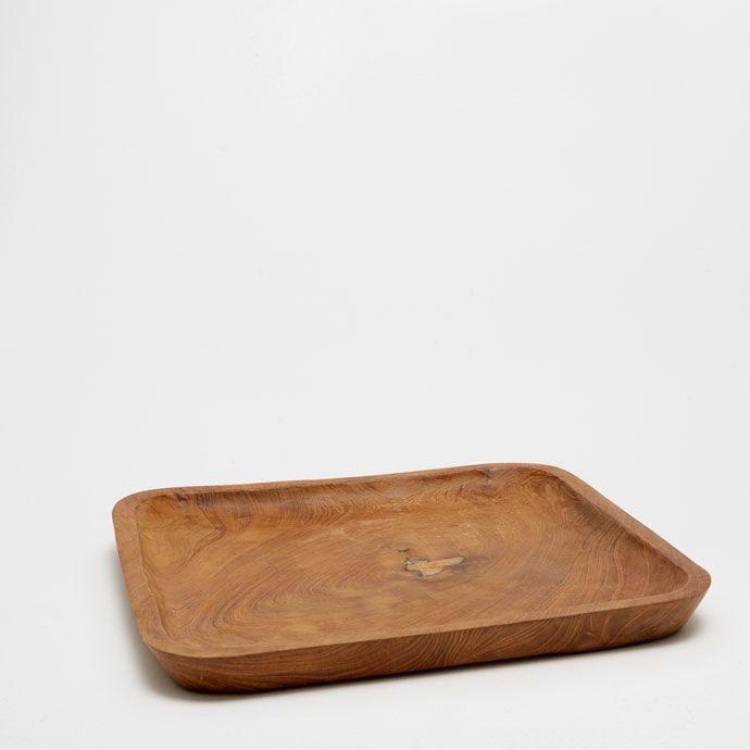 Imagen 1 del producto Bandeja cuadrada de teca