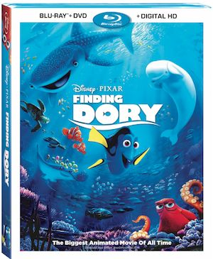 Get Finding Dory on Blu-Ray and DVD starting November 15th! This is a MUST for any movie library.