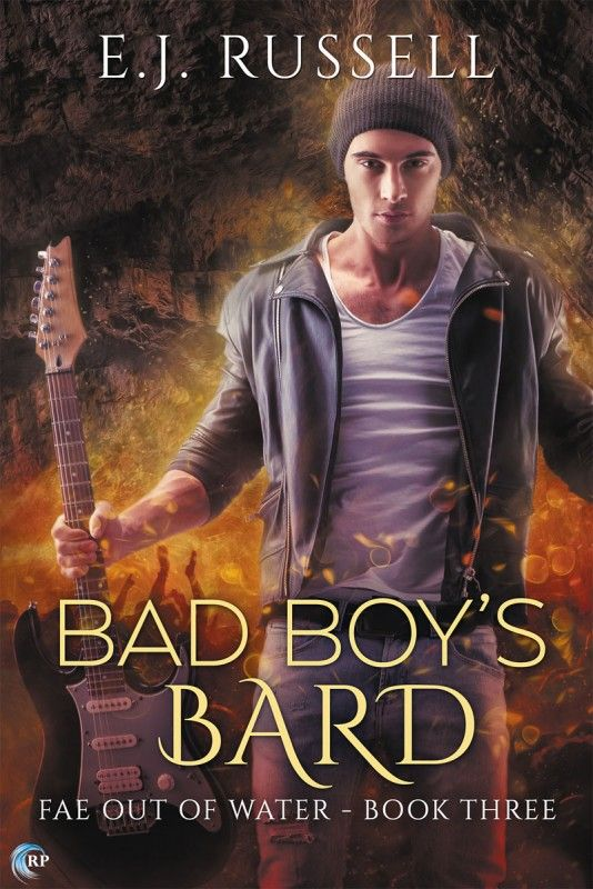 Book Review: Bad Boy's Bard, by E.J. Russell   Divine Magazine
