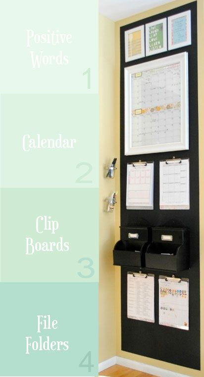4 Things You Need for a Command Center Start with great clipboards !!!                                                                                                                                                      More