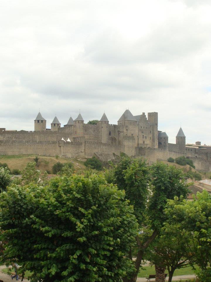 Carcassonne itt: Languedoc-Roussillon