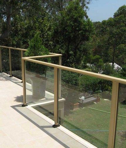 Tiled Deck And Glass Balustrades Www Buildingworksaust Com
