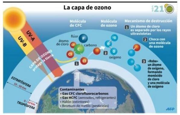 La capa de ozono se recupera, ¿Cómo estás contribuyendo?