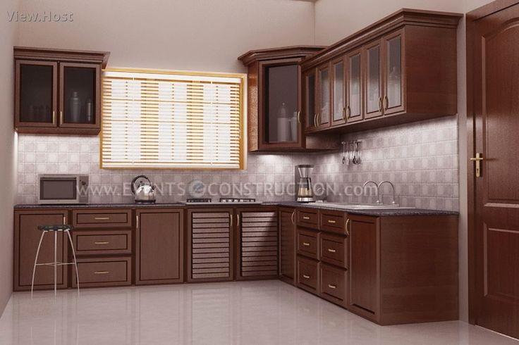 New Model Kitchen Design Kerala conexaowebmix.com ... on Model Kitchen Ideas  id=59056