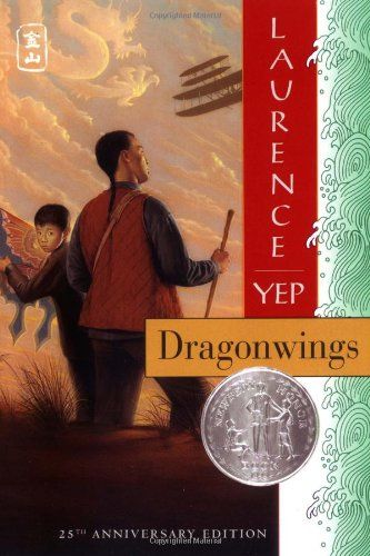 Dragonwings by Laurence Yep Yep is THE author for chronicling the 20th-century Chinese-American experience. This first book is about a boy, his father, and uncles, making their way in life as new immigrants to America. Won a Newbery Honor. Several more books in the series bring it to current day.