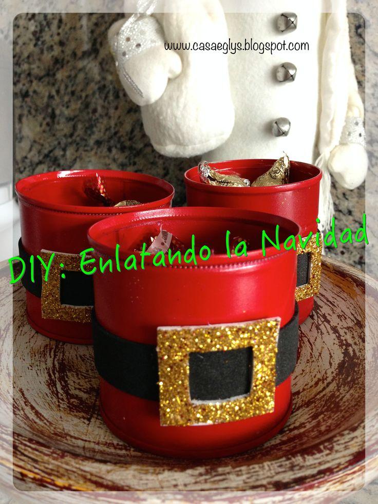 Reciclando Latas #recycle #bins #christmas #navidad #reciclar