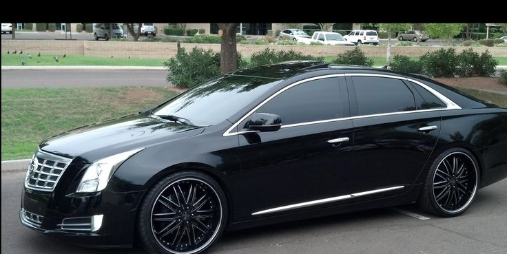 The Cadillac XTS Platinum MurdaOut Black
