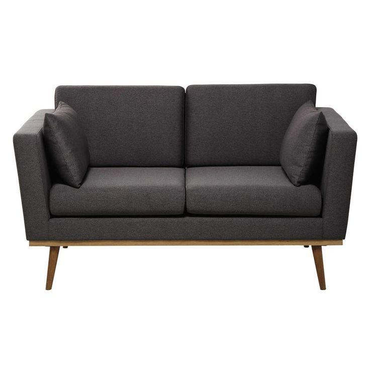Divano vintage grigio 2 posti Vintage sofa, Divano