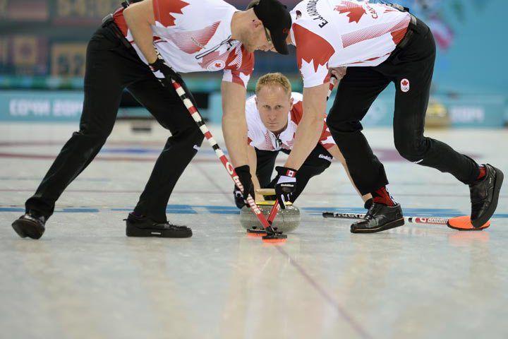 Canada's Brad Jacobs wins Olympic curling opener #WEAREWINTER
