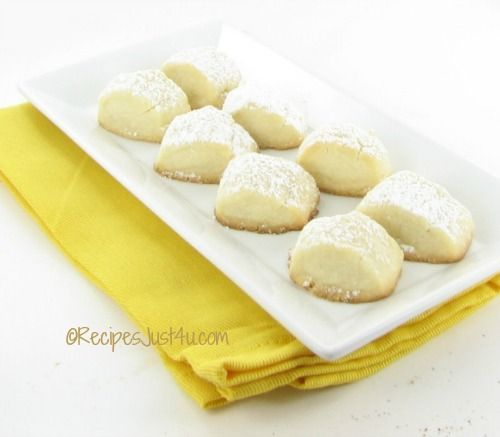 Melting moment cookies