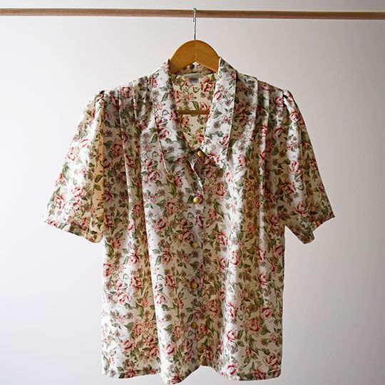 Made By Mee + Co | Floral Short Sleeve Blouse