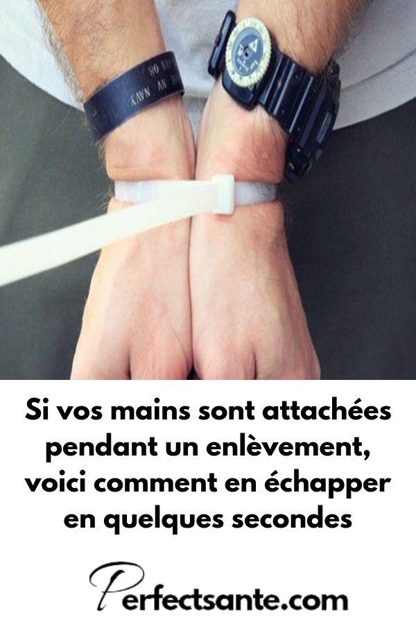 Se le tue mani sono legate durante un rapimento, ecco come fuggire …