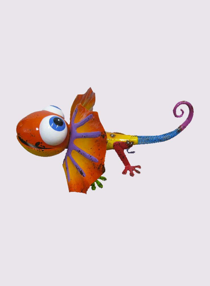 Cute ,colourful ,Cheeky Dreamy Lizard for decorating both the indoors and outdoors.