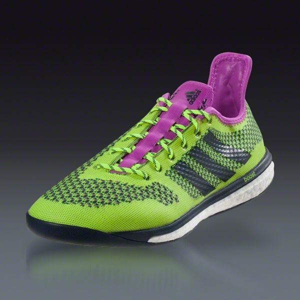 pretty nice 557a1 fdd74 ... new adidas soccer boots samba primeknit 2.0 fg amarillo negro rosado