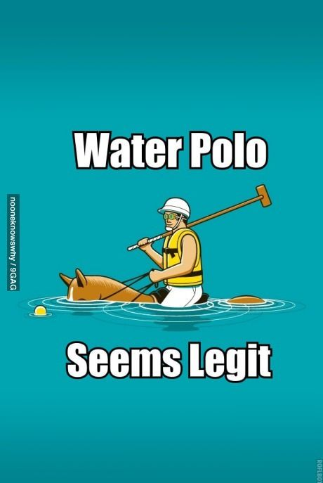 This is what people think anyway when I tell them I play water polo, I think I'll just go with it.