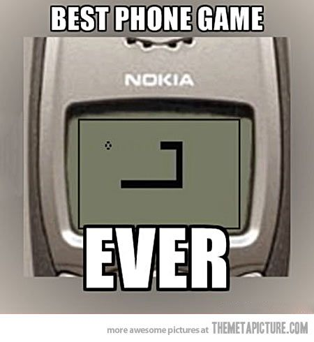 Those were the good old days…
