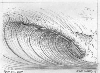 King of Kooks' Missives to His Subjects: How to Draw a Cartoon Wave